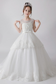 Rochie florăreasă A-linie Mediu Nuntă Formale Talie naturale