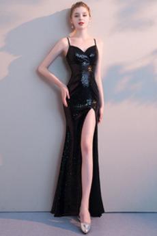 Rochie de bal Lungime de glezna Sexy Primăvară A-linie Fără mâneci