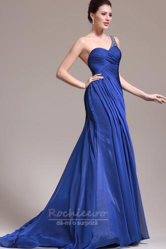 Rochie de seara Miezul nopţii albastru Danila Elegant Lungimea podelei - Pagină 4