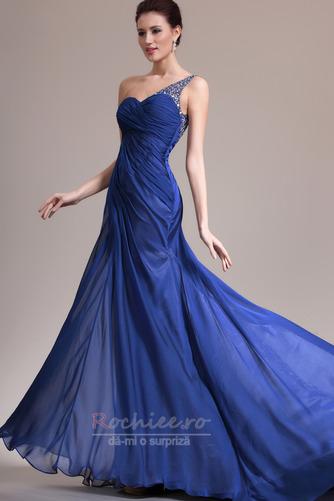 Rochie de seara Miezul nopţii albastru Danila Elegant Lungimea podelei - Pagină 5