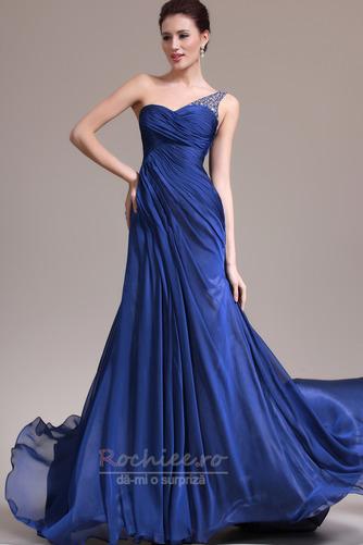 Rochie de seara Miezul nopţii albastru Danila Elegant Lungimea podelei - Pagină 1
