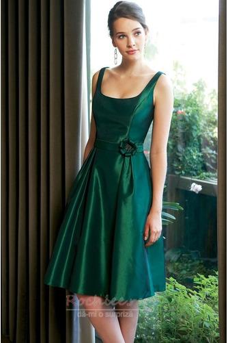 Rochie de domnişoară de onoare Simplu Vară Fără mâneci Talie naturale - Pagină 1