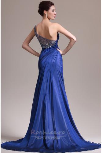 Rochie de seara Miezul nopţii albastru Danila Elegant Lungimea podelei - Pagină 6