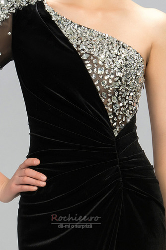 Rochie de bal Sexy Mâneci lungi Şifon Etaj lungime Mediu Un umăr - Pagină 4