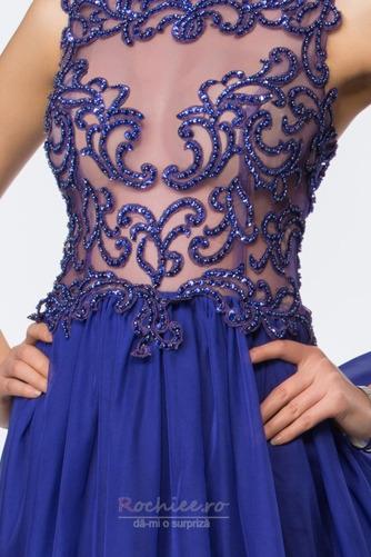Rochie de bal Vară Fără mâneci Talie naturale Elegant Subţire - Pagină 4