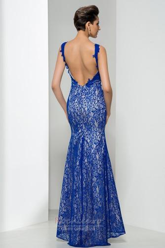 Rochie de bal Fara spate Elegant Vară Mătura Sirenă Fără mâneci - Pagină 2