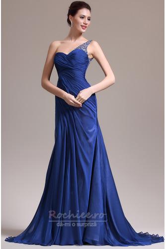 Rochie de seara Miezul nopţii albastru Danila Elegant Lungimea podelei - Pagină 2